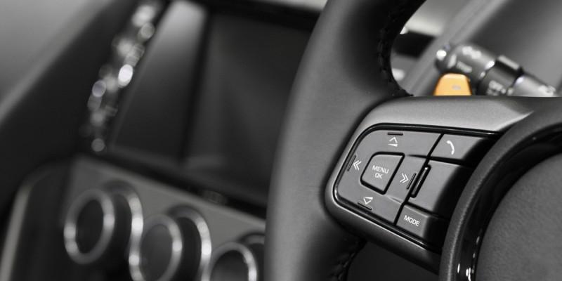 Car audio control